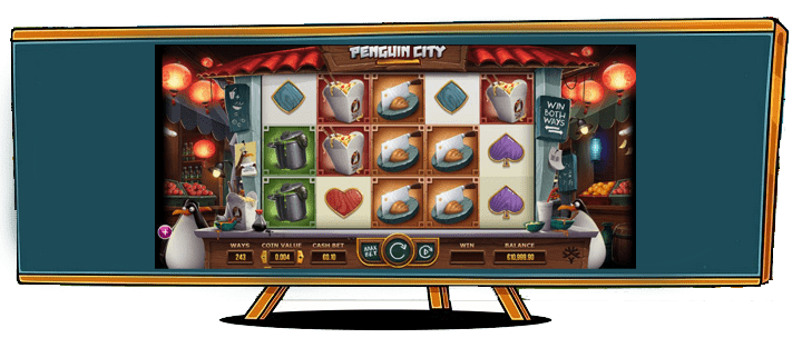 Slots Penguin City