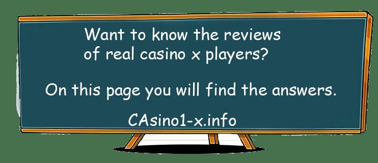 Online Casino X reviews
