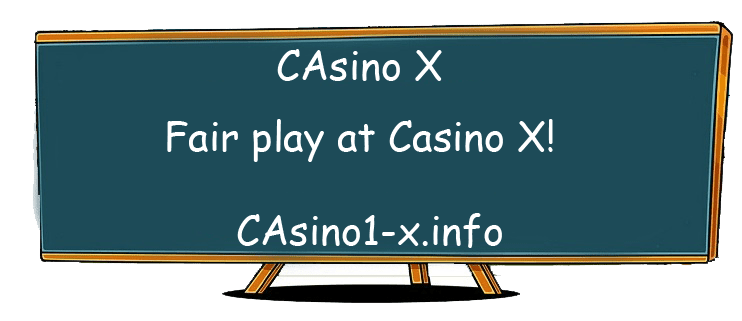 Fair play at Casino X!
