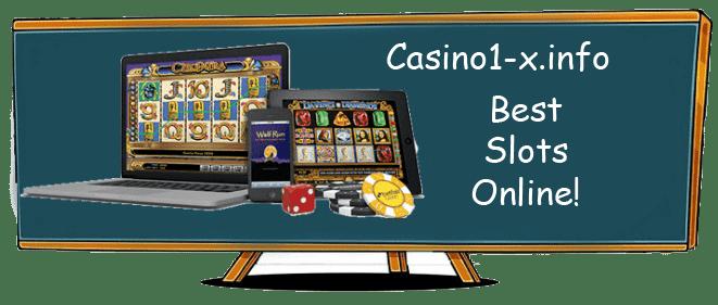 Slot machines online at Casino X Casino